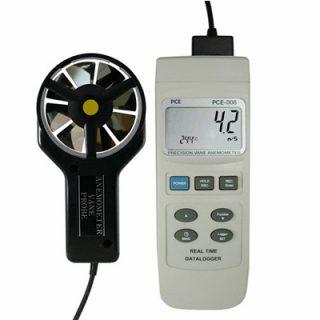 Термоанемометр PCE 008 с логгером для сбора данных