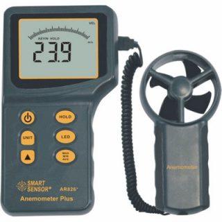 Цифровой анемометр AR826+