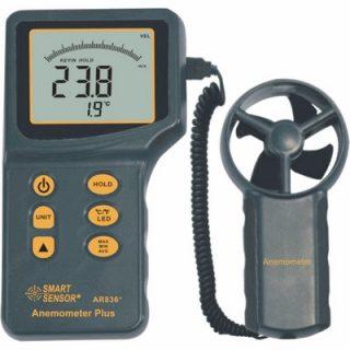 Цифровой анемометр AR836+