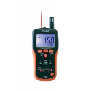 Extech MO290 — Бесштифтовой прибор для измерения влажности, влагосодержания + инфракрасный термометр