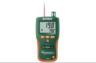Extech MO295 — Бесштифтовый прибор для измерения влажности, влагосодержания + инфракрасный термометр