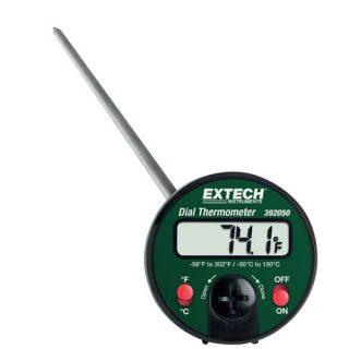 Двойной стержневой проникающий термометр Extech 392050