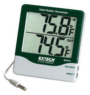 Комнатный/наружный термометр Extech 401014 с большим дисплеем