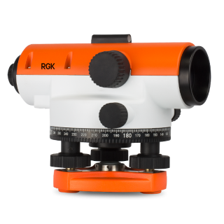 Комплект: оптический нивелир RGK C-20 + штатив + рейка
