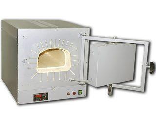 Печь ПМ-12М3 муфельная (1250°C, 8 л, терморегулятор РТ-1200, керамика)