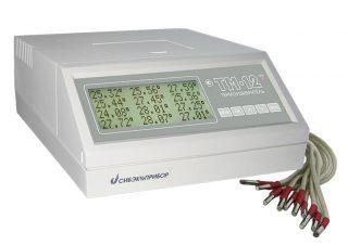 Измеритель температуры многоканальный прецизионный Термоизмеритель ТМ-12