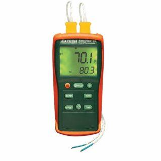 Термометр двойного ввода Extech EA10 EasyView на 1360°С с регистрацией данных