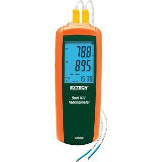 Термометр Extech TM300 с термопарой типа J/K и двумя входами