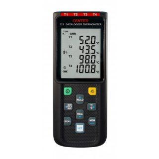 CENTER 521 — Измеритель температуры