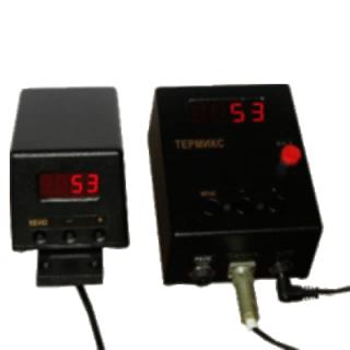 Двухблочный узкоспектральный инфракрасный термометр (пирометр) «КМП-У»