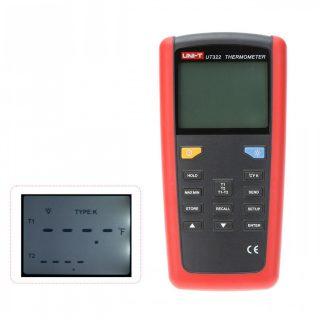 Измеритель температуры (пирометр) UT322