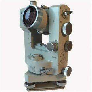 Оптический теодолит Zeiss Theo-010, короткая труба, обратное изображение