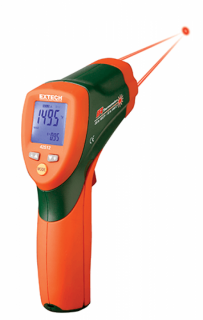 Пирометр Extech 42512 инфракрасный термометр с двойным лазером