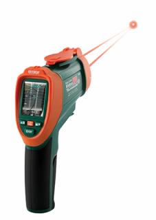 Пирометр Extech VIR50 Цифровой инфракрасный видеотермометр с двойным лазером