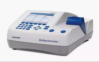 Спектрофотометр 200-830 нм, однолучевой, спектральная щель 4 нм, изм. кинетики, BioSpectrometer kinetic, с кюветой μCuvette