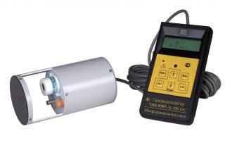 Газоанализатор переносной ОКА-92МТ-O2-CH4-CO (кислород, угарный газ, метан) с выносным датчиком на кабеле 6 м
