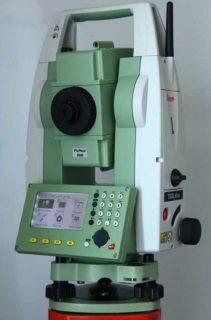 Электронный тахеометр Leica TS06plus R500 (5″)