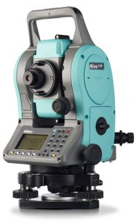 Электронный тахеометр Nikon Nivo 2M (2 панели)