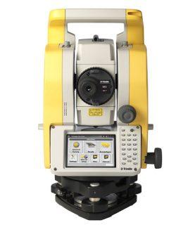 Электронный тахеометр Trimble M3 DR 5″ с лазерным отвесом
