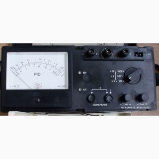 Мегаомметр Ф4102/1-1М