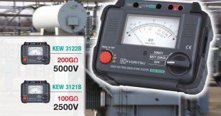 KEW 3122B — мегаомметр аналоговый