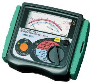KEW 3131A — мегаомметр аналоговый