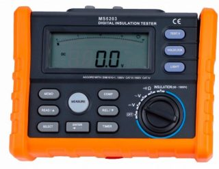 PeakMeter MS5203 — измеритель сопротивления изоляции