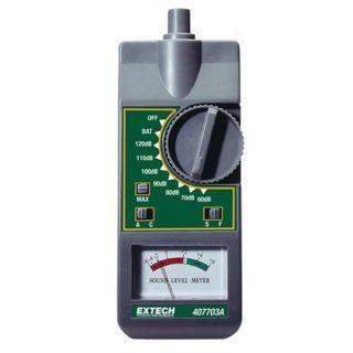 Аналоговый измеритель шума Extech 407703A