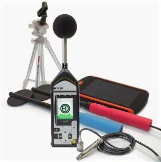 Экофизика-110А (Белая) Комплект Изыскатель 110А — Шумомер-измеритель ЭМП до 400 кГц