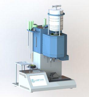 Установка для определения показателя текучести расплава термопластов с автообрезкой ПТР-ЛАБ-11