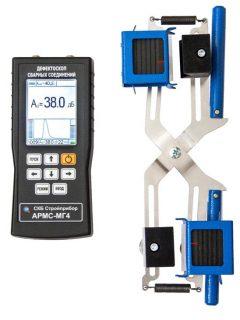 Дефектоскоп сварки арматуры АРМС-МГ4 (Цветной дисплей)