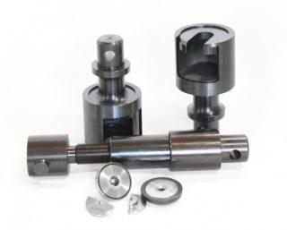 Приспособление ИПО-01.300 для испытания пропорциональных цилиндрических образцов по ГОСТ 1497