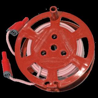Катушка с проводом 10м, для генератора «Сталкер», красная
