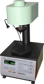 Аппарат для определения пенетрации пластичных смазок микроконусами ПН–10МК